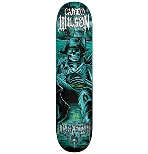 Darkstar Black Pearl Skateboard Deck - Wilson 8''