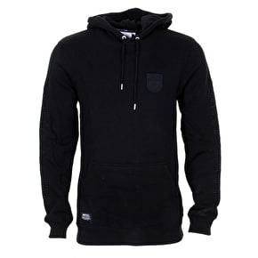 WeSC Patch Pullover Hoodie - Black