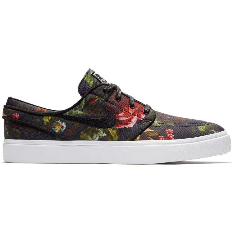 Nike SB Zoom Stefan Janoski Skate Shoes - Multi/Black/White/Gum/Light Brown