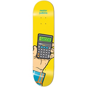 Enjoi Instant Messages Impact Light Skateboard Deck - Judkins 8.25