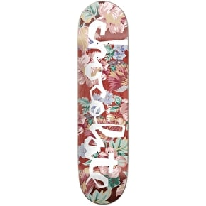 Chocolate Floral Chunk Skateboard Deck - Hsu 8.25