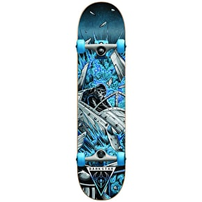 Darkstar Jet Fighter Youth Complete Skateboard - Blue 6.75