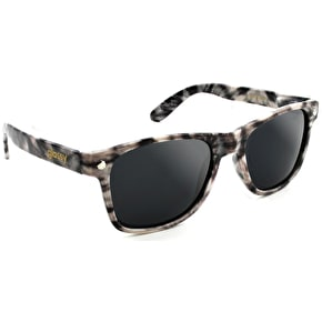Glassy Sunhaters Chumlee Sunglasses - Smoke Tie Dye
