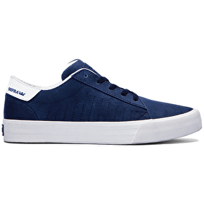 Supra Belmont Shoes - Navy/Off White