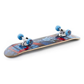 Voltage Zombie Mini Complete Skateboard - Blue