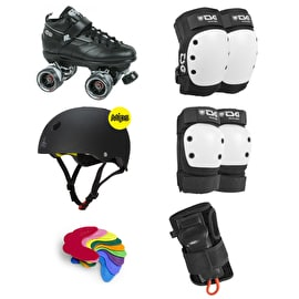 Sure-Grip GT-50 Advanced Derby Skate Bundle