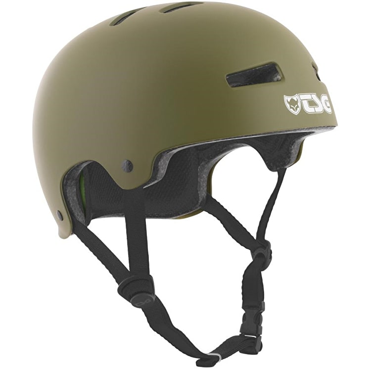 TSG Evolution Helmet - Satin Olive