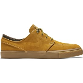 Nike SB Zoom Janoski Premium Skate Shoes - Bronze/Bronze Gum/Light Brown
