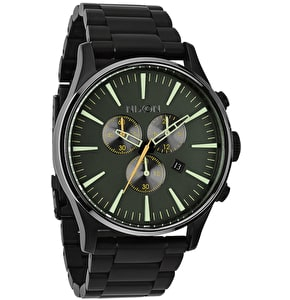 Nixon Sentry Chrono Watch - Matt Black/Surplus