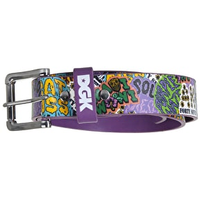 DGK Flavas PU Belt - Purple