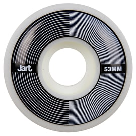 Jart RPM 102a Skateboard Wheels - Black 53mm