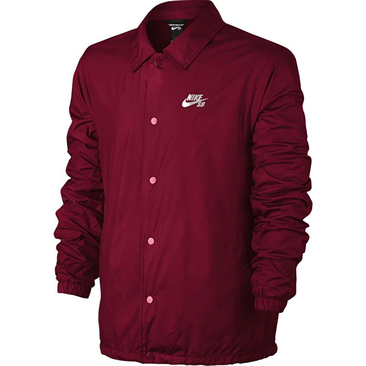 Nike SB Shield Jacket - Red Crush/White