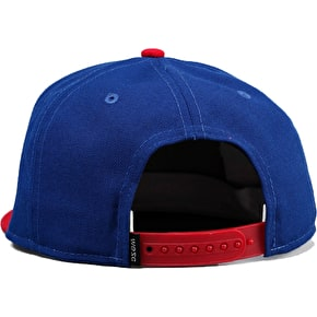 WeSC City Emblem Snapback Cap - Royal Blue