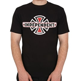 Independent Vintage Cross T Shirt - Black