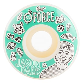 Force Bored Park Skateboard Wheels - 53mm