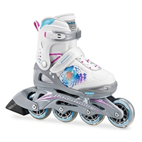 Bladerunner 2017 Phaser Flash G Kids Roller Blades - White/Multi