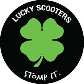 Lucky Stomp It Sticker