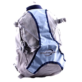 Rollerblade Skate Backpack - Silver/Blue