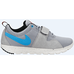 Nike SB Trainerendor Shoes - Base Grey/Vivid Blue/Sail