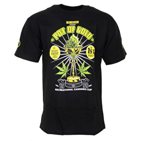 Gold  Pot Of Gold T-Shirt - Black