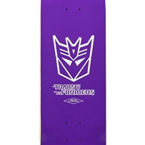 Primitive x Transformers Tucker Starscream Skateboard Deck 8.125
