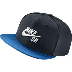 Nike SB Logo Pro Cap - Dark Obsidian/Photo Blue