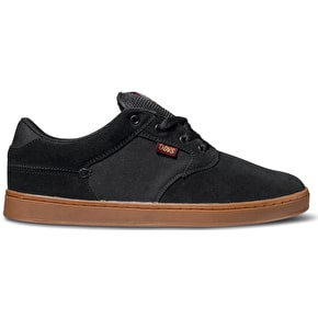 DVS Quentin Shoes - Black/Port/Gum