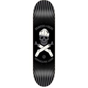 About Team Series DNS Skateboard Deck - Skull 8