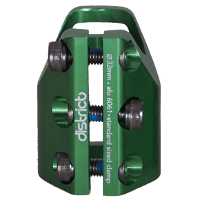 District Triple Light Standard Clamp - Green