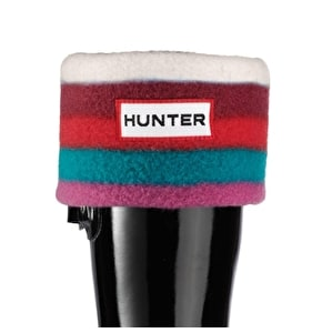 Hunter Kids Patterned Socks Multi Red