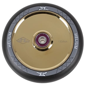 AO Helium 120mm Scooter Wheel - Gold