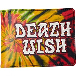 Deathwish Great Death Tie Dye Wallet - Rasta