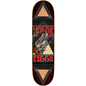 Baker Geometry Skateboard Deck - Figgy 8.125