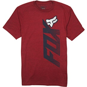 Fox Rebound T-Shirt - Heather Red