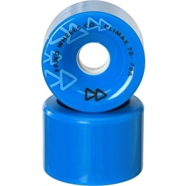 Forward Climax 70mm 78a Longboard Wheels - Blue (Pack of 4)