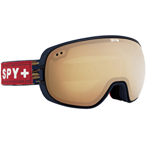 Spy Bravo Goggles - Party Fatigue/Yellow/Gold Mirror
