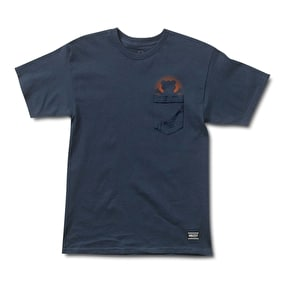 Grizzly Day Off Pocket T-Shirt - Navy