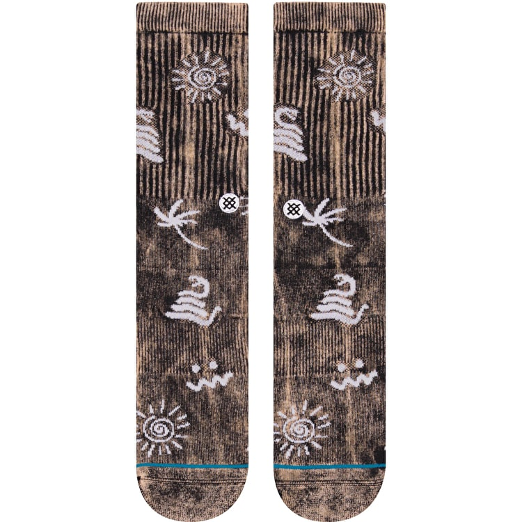 Stance Wave Snake Socks - Black