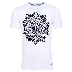 Hype Bolt Mandala T-Shirt - White