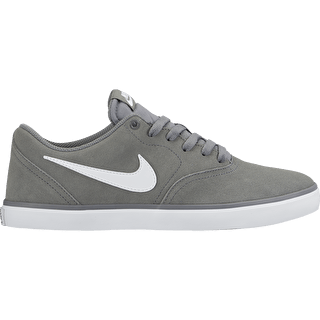 Nike SB Check Solarsoft Skate Shoes - Cool Grey/White