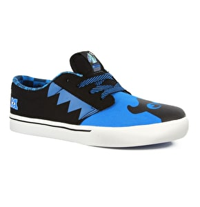 Etnies Jameson 2 Kids Disney Monsters Shoes - Blue/Black UK Size 2 (B-Stock)