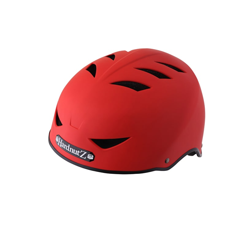 Hardnutz Rubber Helmet - Red