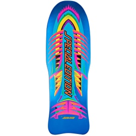 Santa Cruz Special Edition Fish Reissue Skateboard Deck - Blue Candy Metallic 10.14
