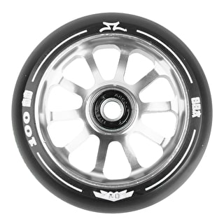 AO Delta 2017 10 Hole 100mm Scooter Wheel - Silver