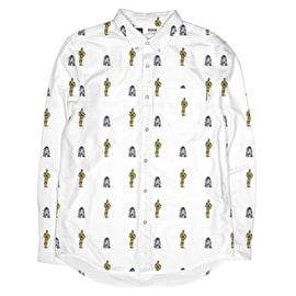 Dedicated Robot Pattern Shirt