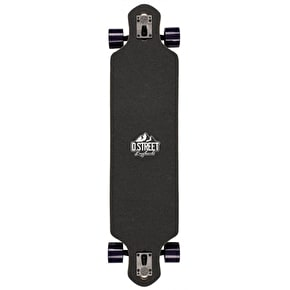 D-Street Stag Drop-Through Complete Longboard - Green 39