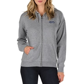 Vans OTW Womens Zip Hoodie - Grey Heather