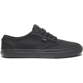 DVS Rico CT Skate Shoes - Black/Black/Canvas
