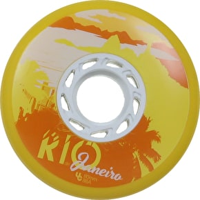 UNDERCOVER 80mm Team PB Rio Wheels 88a