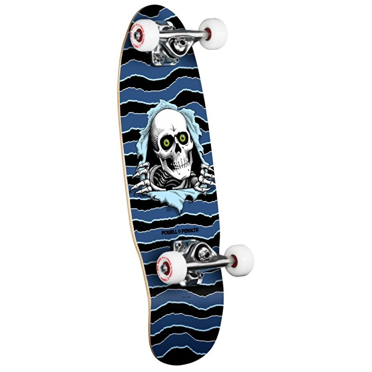 Powell Peralta Mini Skateboard - Ripper Blue 7.5""